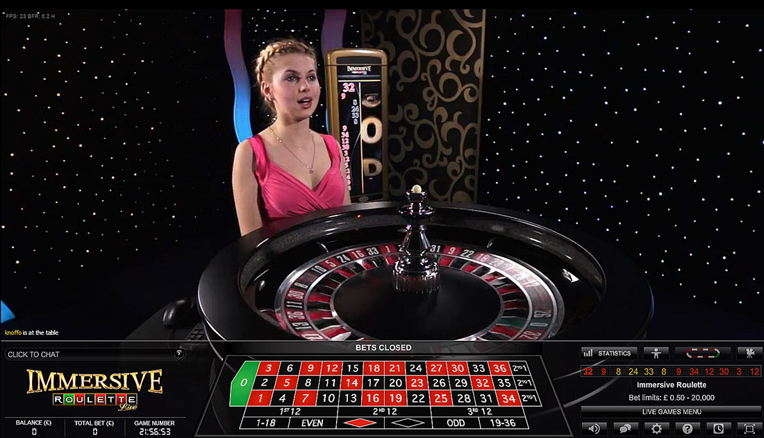 High Stakes Roulette with Live Dealer